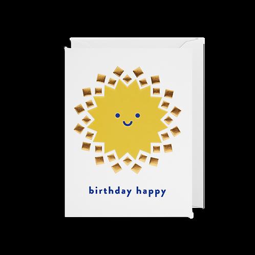Birthday Happy - Mini Card