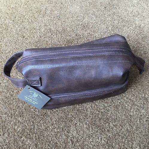 Men's travel wash bag