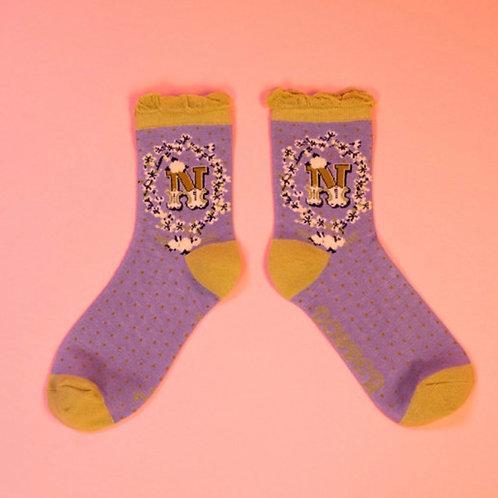 Monogram Socks - N