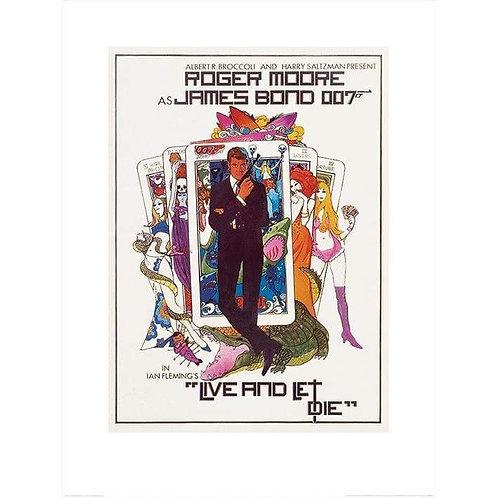 Live and Let Die - James Bond Framed Print