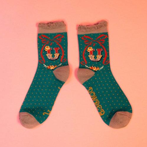 Monogram Socks - U