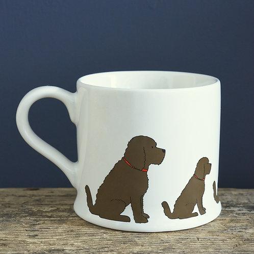 Cockatoo/Labradoodle Mug