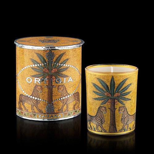 Ortigia Decorated Candle 150g -Zagara