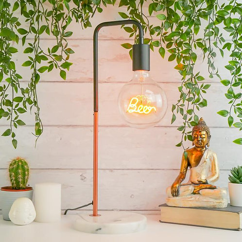 Beer LED text Light Bulb - Pendant (light bulb only)