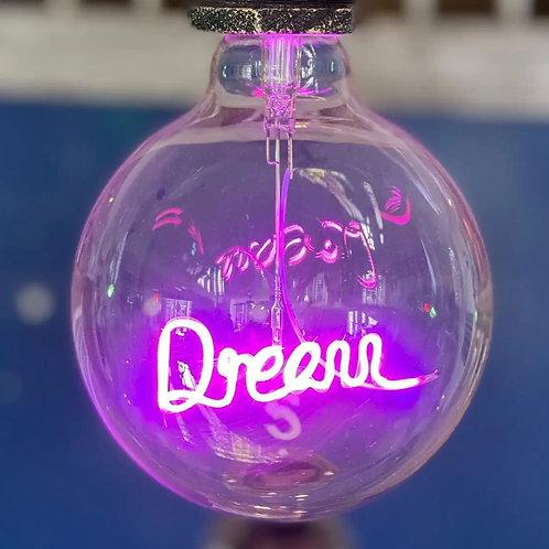 Message in a Bulb - Dream Pendant