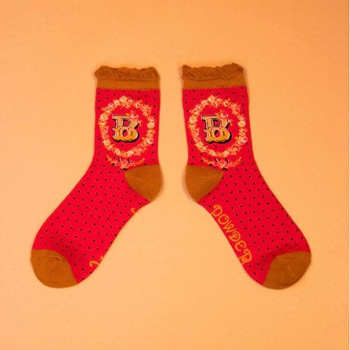 Monogram Socks - B