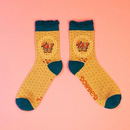 Monogram Socks - W