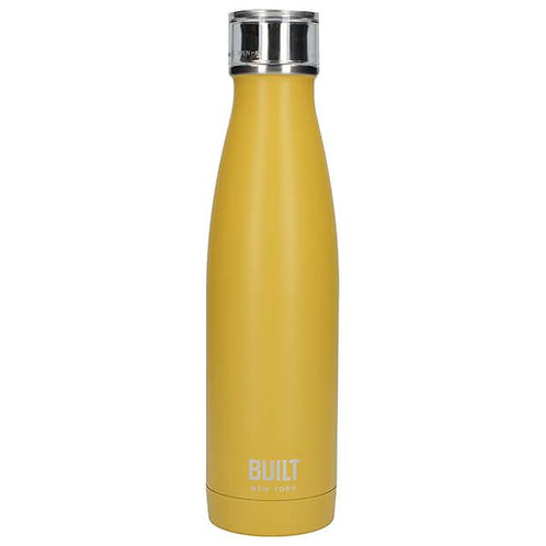 Built Stainless Steel Water Bottle - Mustard