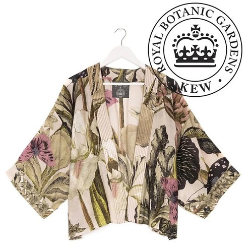 Iris Blush Mini Kimono