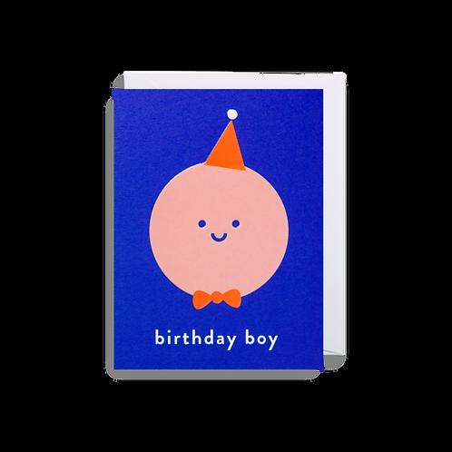 Birthday Boy - Mini Card