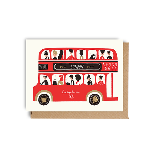 London Bus - Mini Card