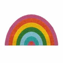 Rainbow Shaped Door Mat