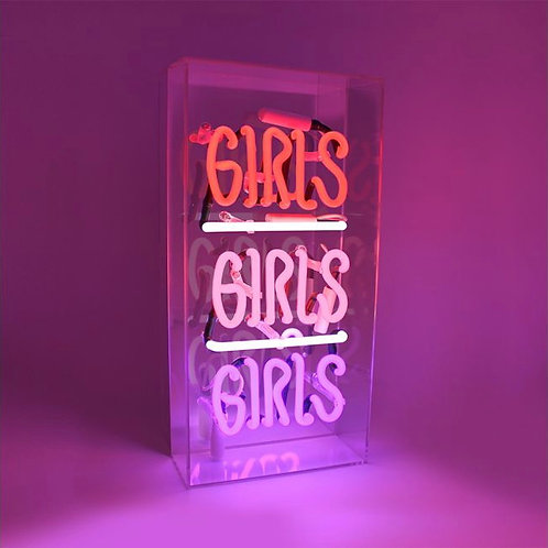 Neon Light - Girls Girls Girls