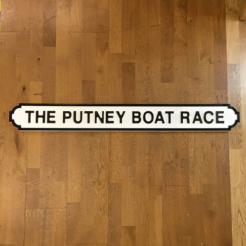 Putney Boat Race Road Sign