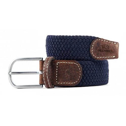 Elastic Woven Belt - Navy