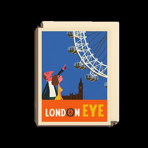 London Eye - Mini card