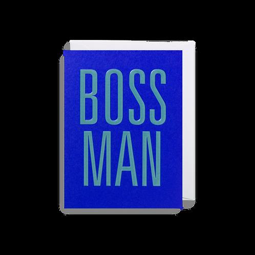 Boss Man - Mini Card