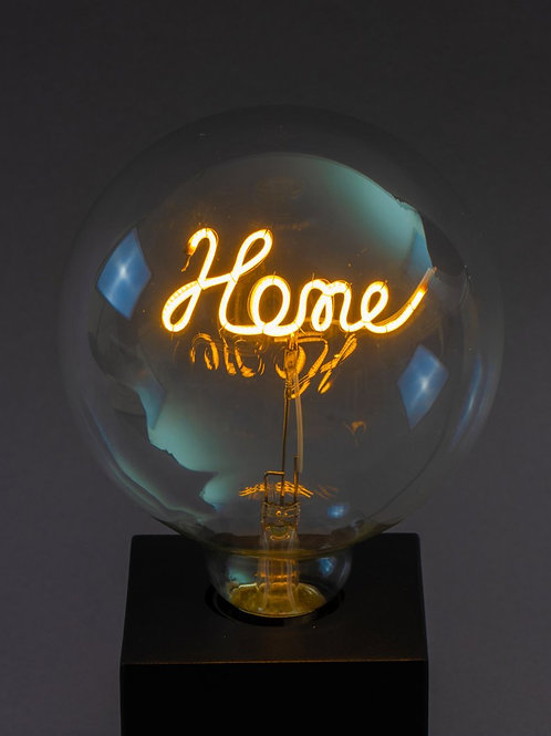 Message in a Bulb - Home Table Lamp