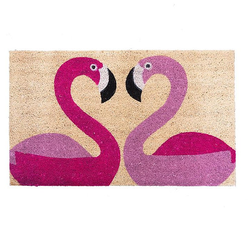 Flamingo Door Mat