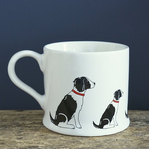 Springer Spaniel Black/White Mug