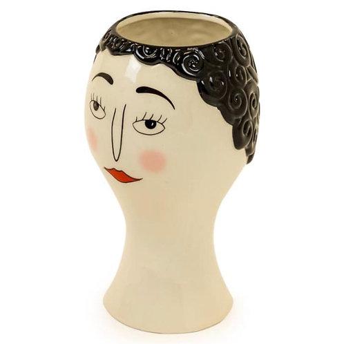 Doodle Lady Lipstick Vase