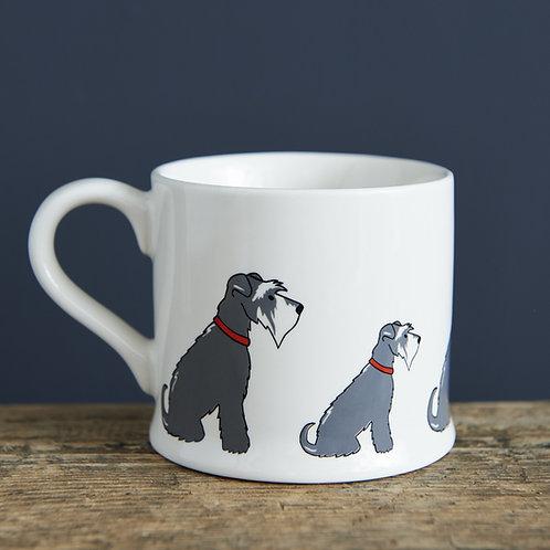 Schnauzer Grey Mug
