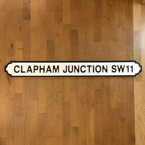 Clapham Junction SW11 Road Sign