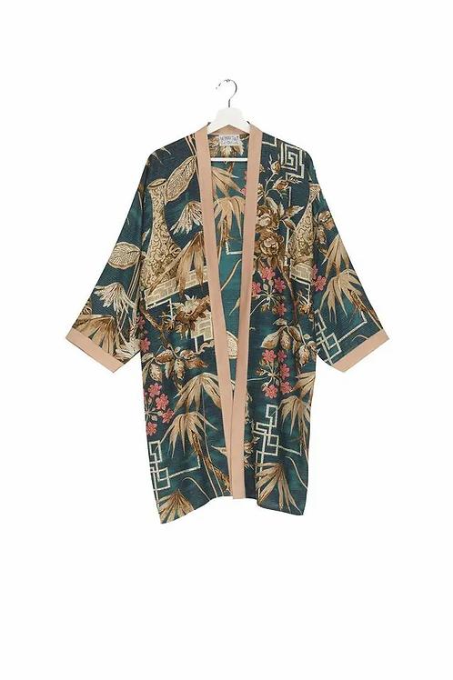 Bamboo Collar Kimono
