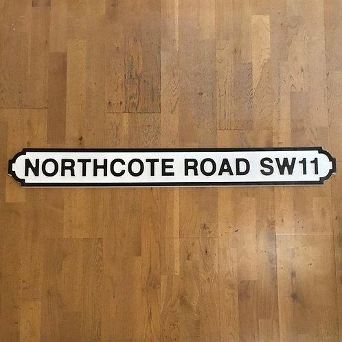 Northcote Road SW11 Road Sign