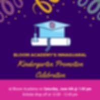 Bloom Academy Kindergarten Promotion Cel