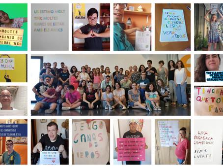 Carta per a tots/es a través de missatges creuats (Setmana del 8 de juny)