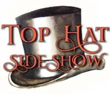 The top hat side show logo