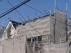 外壁塗装(施工中)
