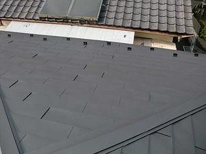 屋根葺き替え工事の施工例(施工後)