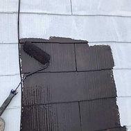 カラーベスト屋根塗装の施工の流れ(中塗り)