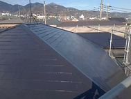 カラーベスト屋根塗装の施工の流れ(塗装完了)