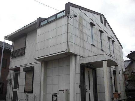 外壁塗装の施工例(施工前)