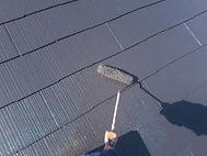 カラーベスト屋根塗装の施工の流れ(上塗り)