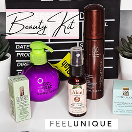 Feel Unique's new beauty kit!