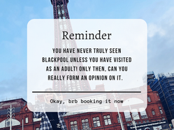 That Vain Gal Does: Blackpool   Why Adult You Needs To Visit!