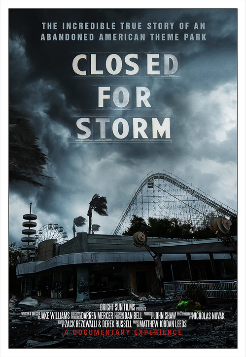 Closed For Storm Poster High Quality