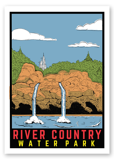 River Country Postcard