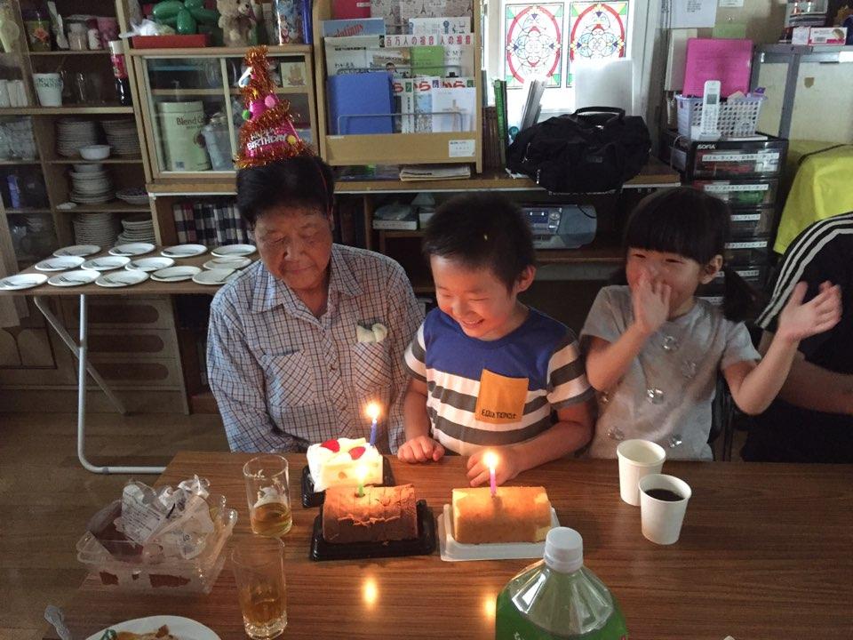 大久保静子姉のお誕生日