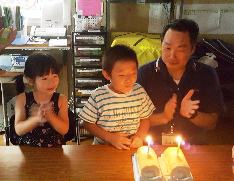 永井兄弟のお誕生日2