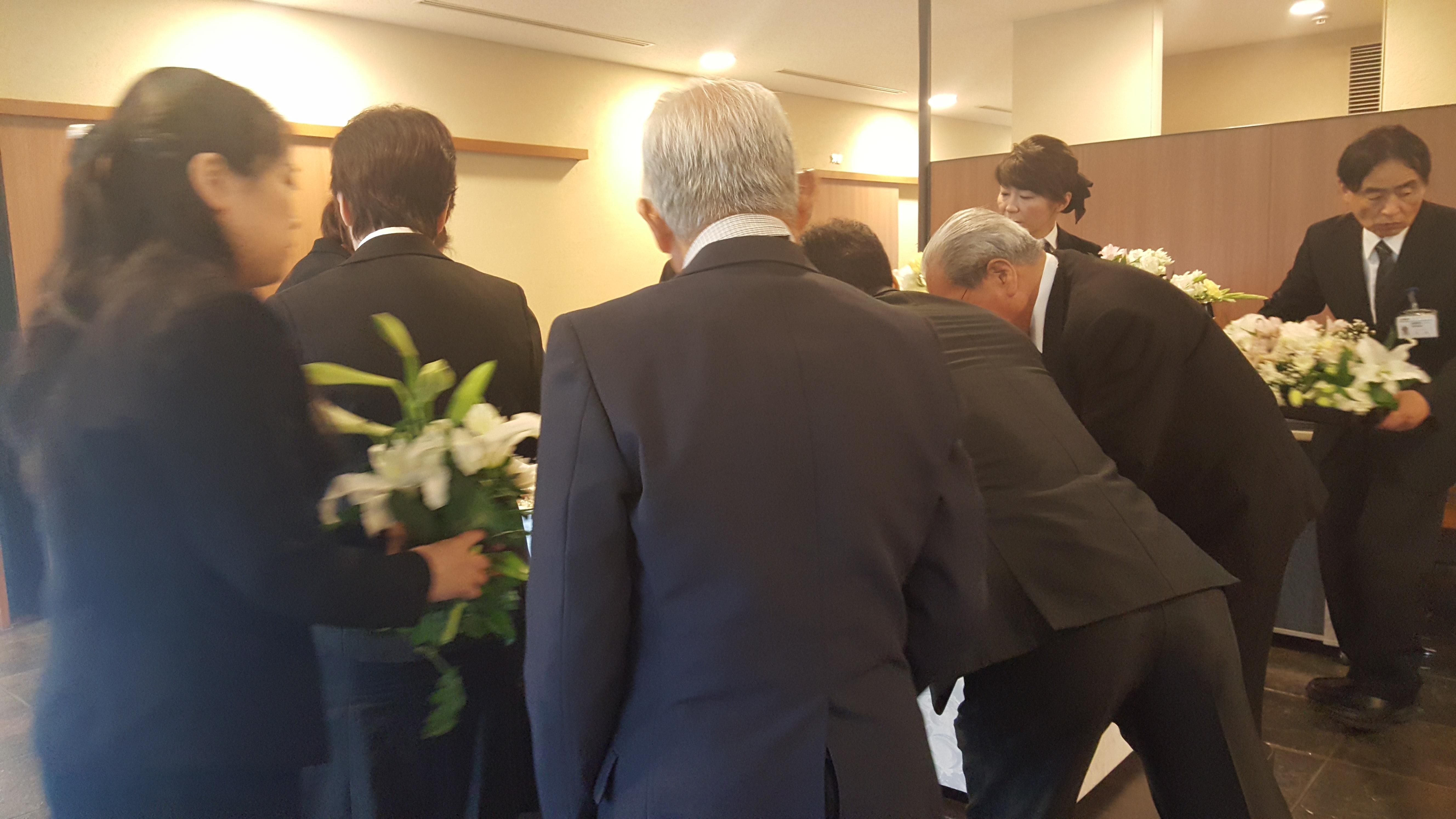 20170607,08 白石弘行兄の前夜式、告別式3
