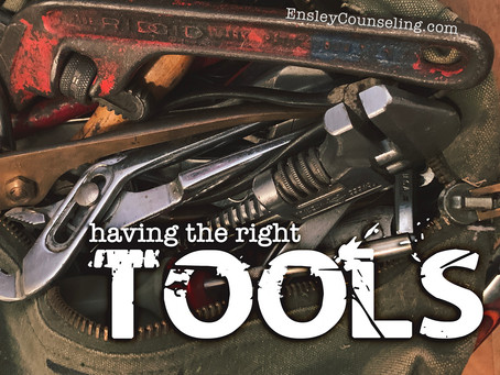 Having the Right Tools