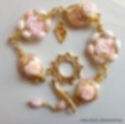 Unique Handmade Jewelry, Jewelry Online, Luxury Jewelry, Handmade Jewelry, Conch Bracelet, Shell Bracelet, Pink Bracelet
