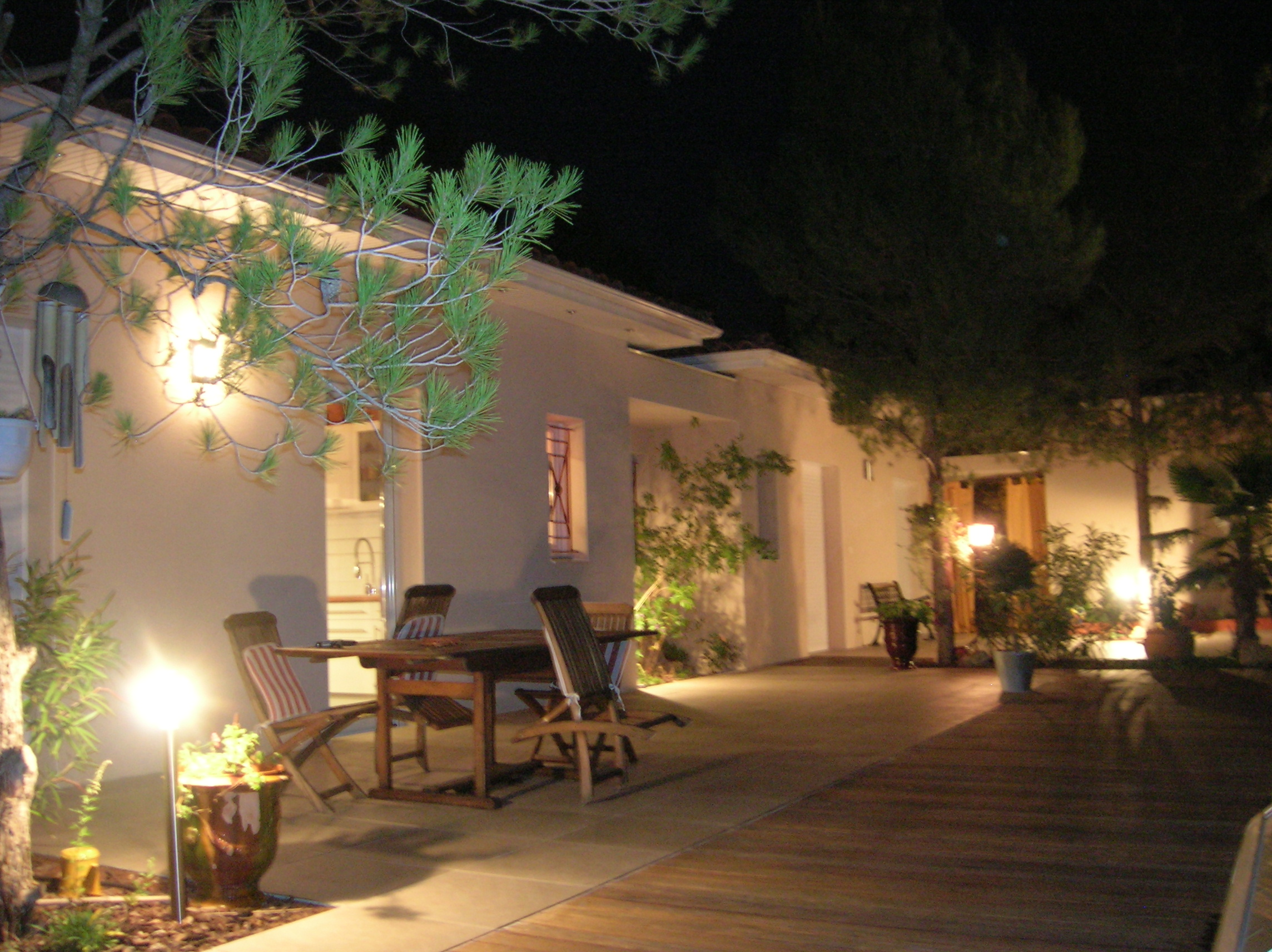 Villa extérieur luminaires