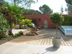 Villa individuelle terrasse bois