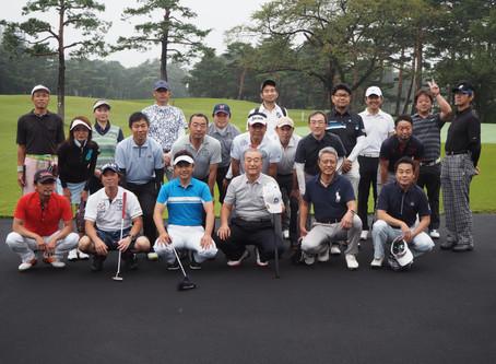 10月8日(火)飯能商工会議所青年部OB合同ゴルフコンペが開催されました